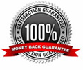 100% ssatisfaction guaranteed of your money back.