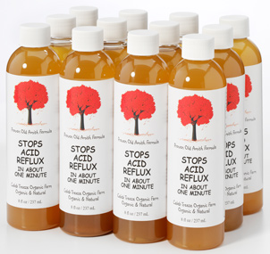 A 12 bottle case of our natural remedy for acid reflux and heartburn.